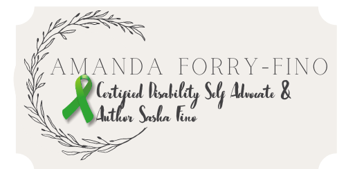 Amanda Fino Certified Disability Self Advocate & Author Sasha Fino